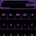SCalc Neon Purple theme icon