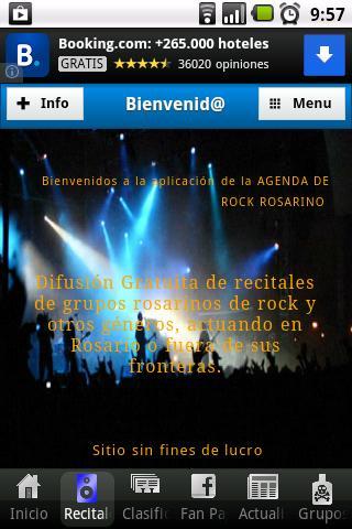 Agenda de Rock Rosarino