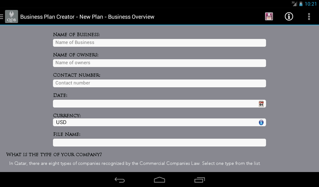 Business plan creator android apps on google play Blueprint creator app