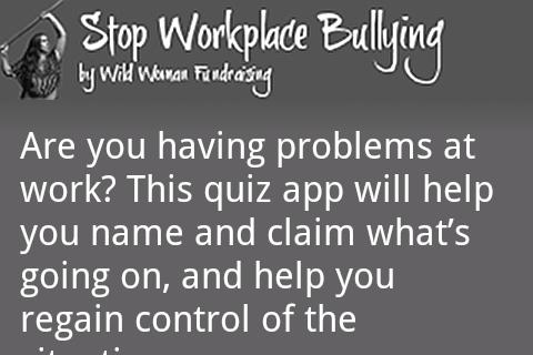 Stop Workplace Bullying (Full)- screenshot