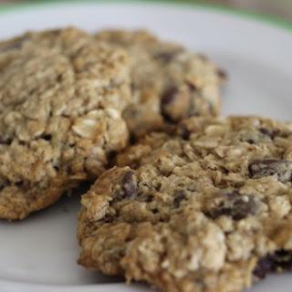 Coconut Mocha Oat Cookies