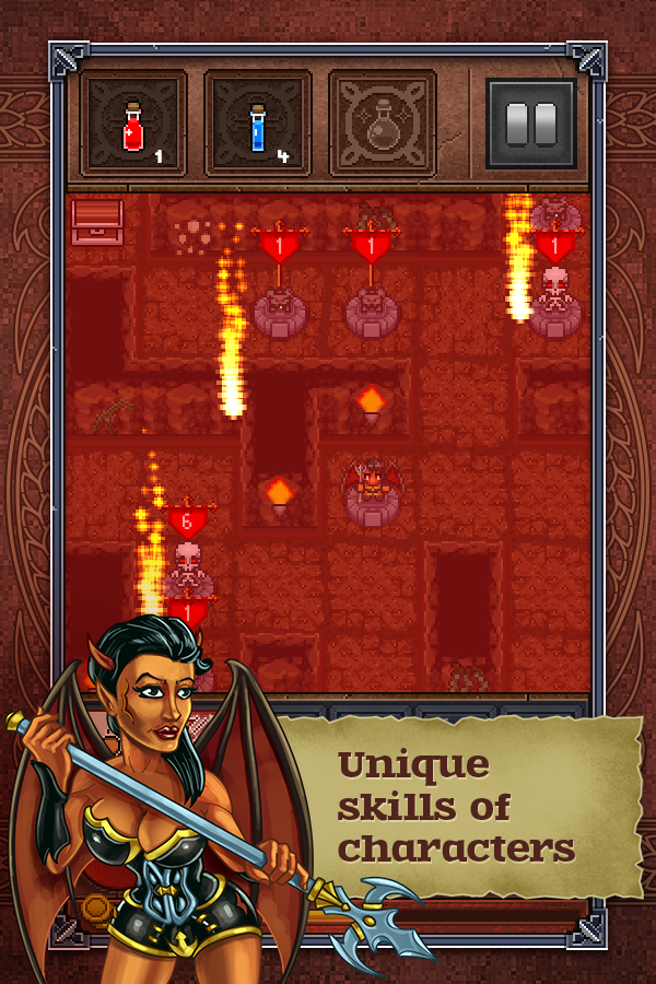 Dragon's dungeon Lite- screenshot