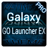 Blue Galaxy GO Launcher