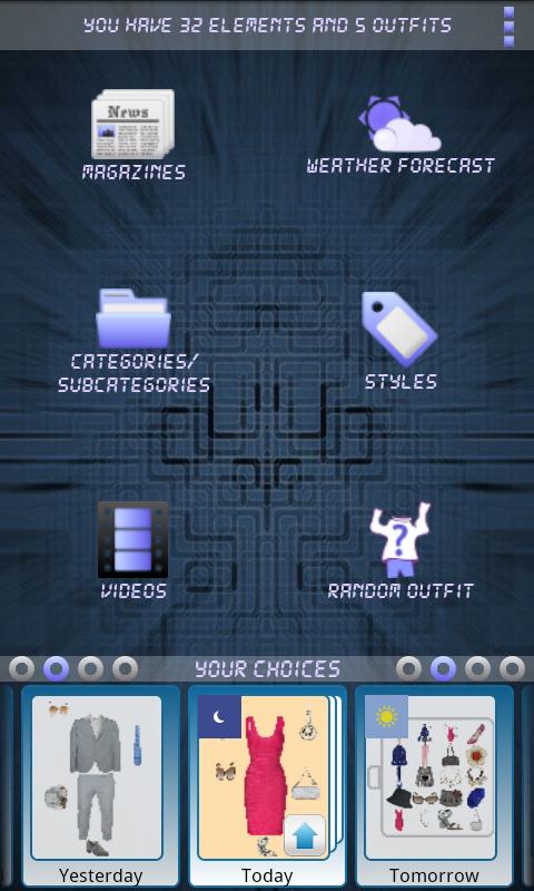 Personal Closet - screenshot