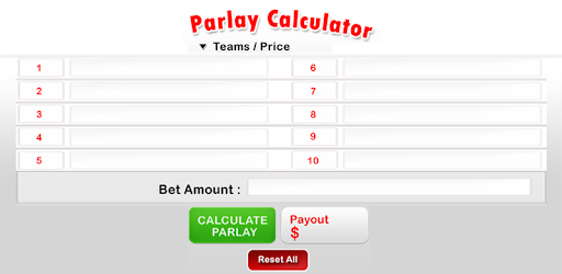 Parlay calculator sports betting online betting in ipl 7 live scores