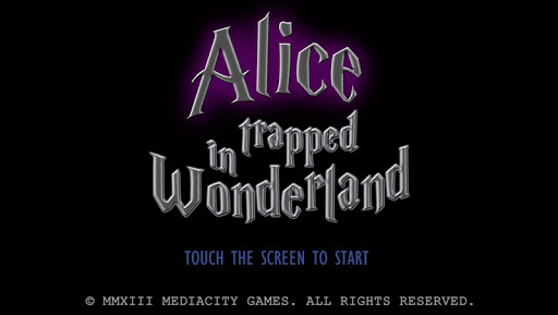 Alice Trapped in Wonderland