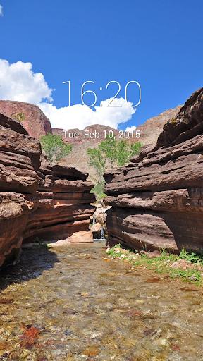 Grand Canyon Lock Screen