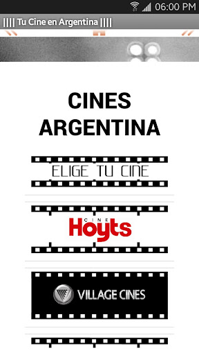 Elige Tu Cine - Argentina