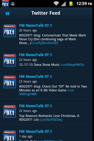 FM NewsTalk 97.1 - screenshot