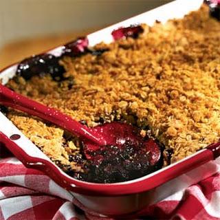 Blueberry Crisp No Oats Recipes.