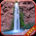Beautiful Waterfall LWP HD icon