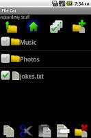 Screenshot of File Cat