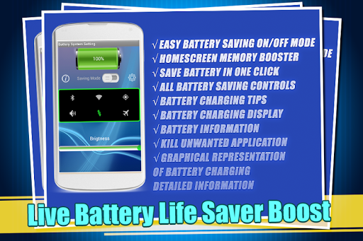 Live Battery Life Saver Boost