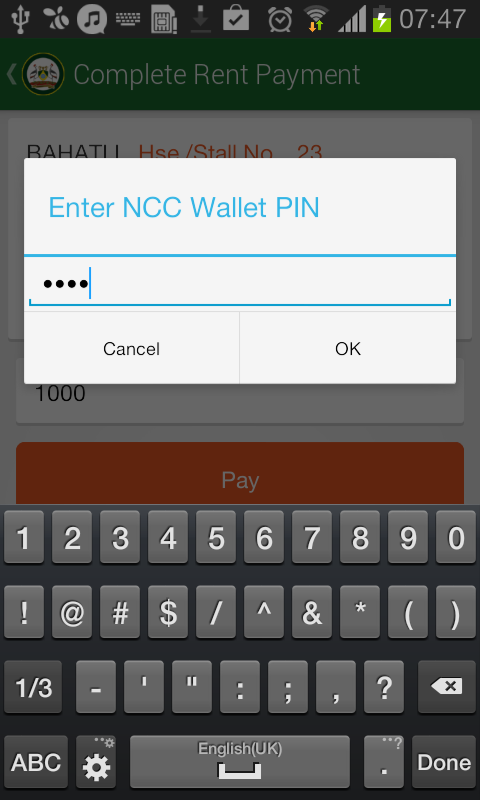 Nairobi City County Mobile- screenshot