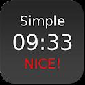 Nice Simple Clock (Widget) logo