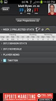 Screenshot of Fantasy Football Predictor '14