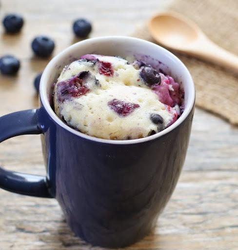 Blueberry Mug Cake