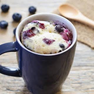 Blueberry Mug Cake.