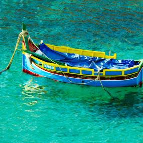Dghajsa Maltija by John Bonanno - Transportation Boats