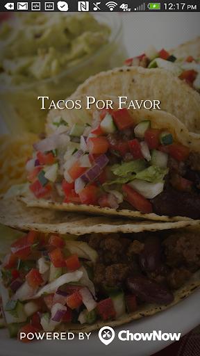 Tacos Por Favor