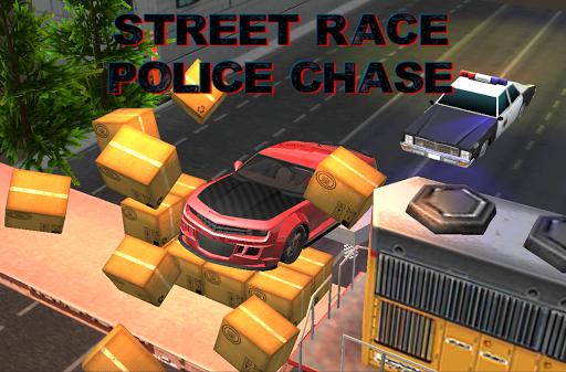 街道賽警方追捕