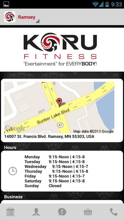 KORU Fitness - screenshot