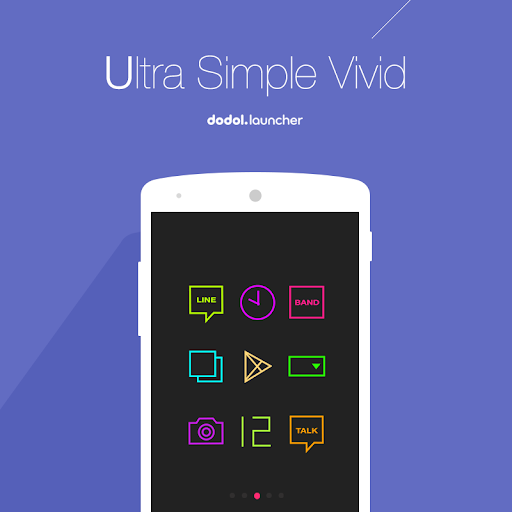 Ultra Simple Vivid Dodol Theme