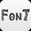 Lindo Pack de FlipFont ® Free icon