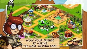 Wonder Zoo - Animal rescue ! screenshot for Android