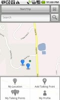 Screenshot of Georeader