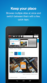 Opera Mini browser for Android Screenshot 4