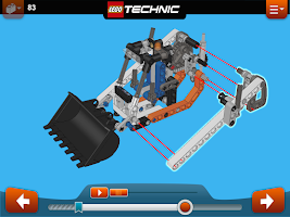 Screenshot of LEGO® Building Instructions