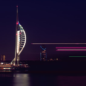 Spinnaker by Haavard Lien - Buildings & Architecture Statues & Monuments ( water, tower, seaside, boat, city )