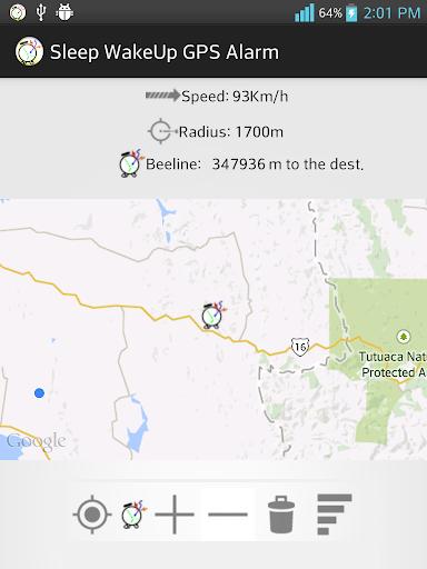 Sleep WakeUp GPS Alarm