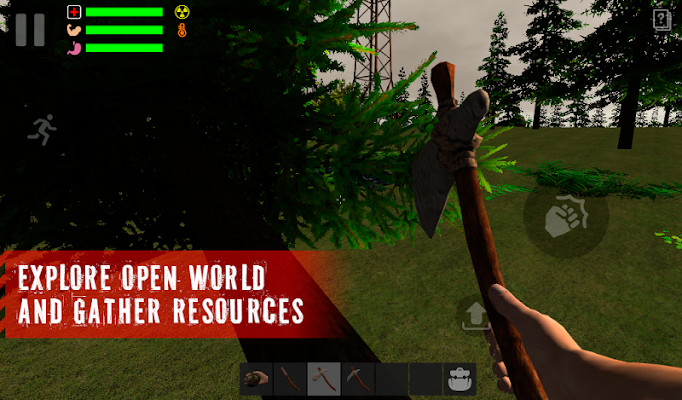 O Survivor: Rusty Floresta - Screenshot