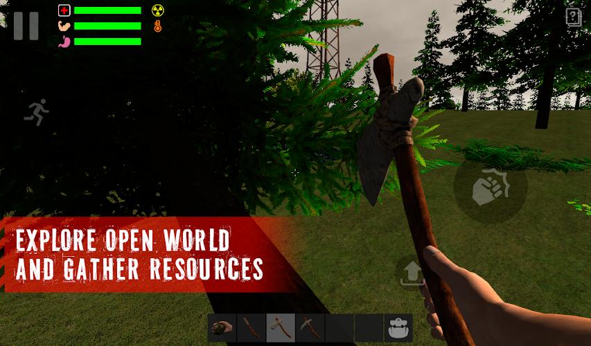 The Survivor: Rusty Forest - screenshot
