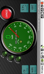Green Speedo Dynomaster Layout - screenshot thumbnail
