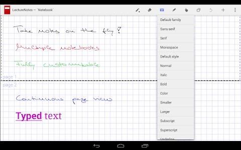 LectureNotes v2.5