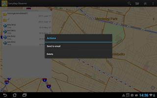 Screenshot of CarryMap Observer