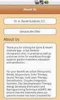 Screenshot of Spine & Health Institute