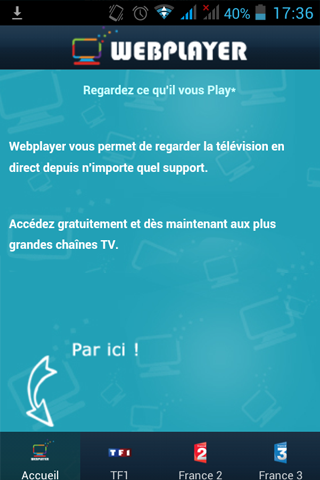 Webplayer TV