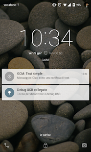 GDGCatania GCM Test- screenshot thumbnail