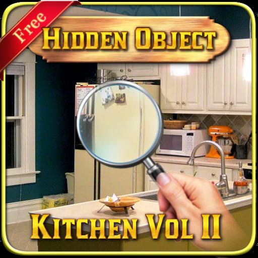 隱藏的對象 - 廚房遊戲2 解謎 App LOGO-APP試玩