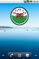Screenshot of Wales Clock