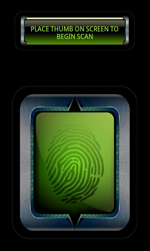 Prank Finger Print Scanner - screenshot