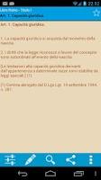 Screenshot of Codici e Leggi Completo