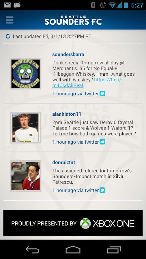 Sounders FC - screenshot