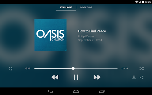 Oasis Church - screenshot thumbnail