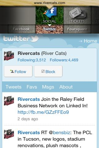 Sacramento River Cats - screenshot