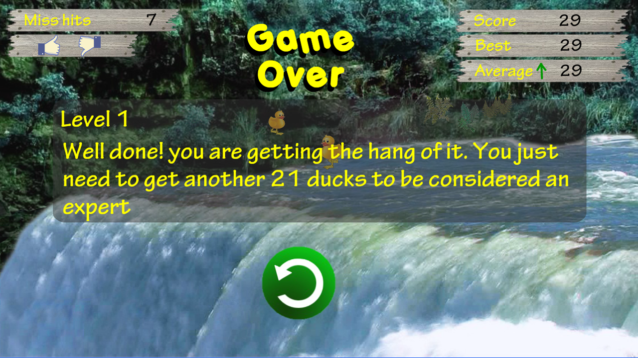 Duck Rescue - the waterfall- screenshot